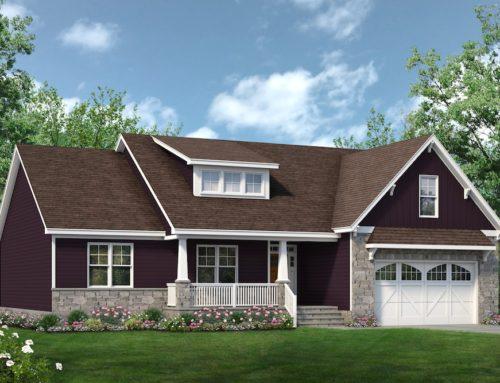 Profile Construction Presents Augusta Plan on Lot 45 Cedar Ridge