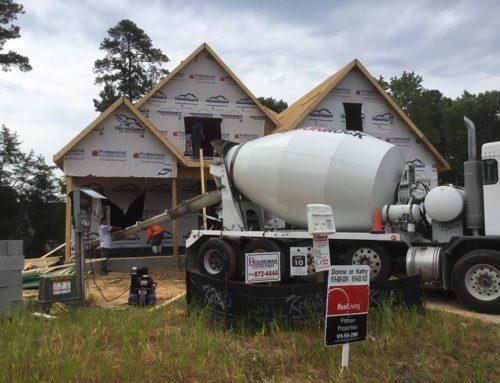 New home construction is underway at Cedar Ridge!