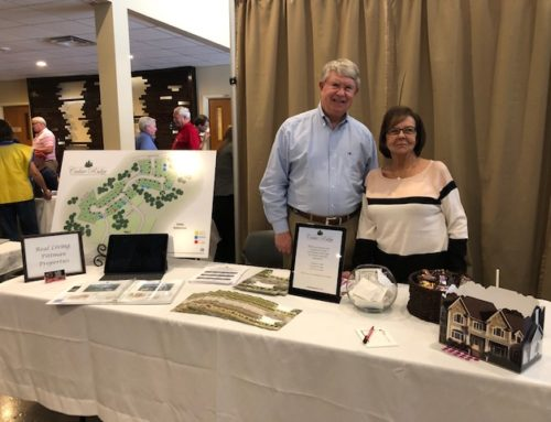 Cedar Ridge Hosts Booth at YABA Expo