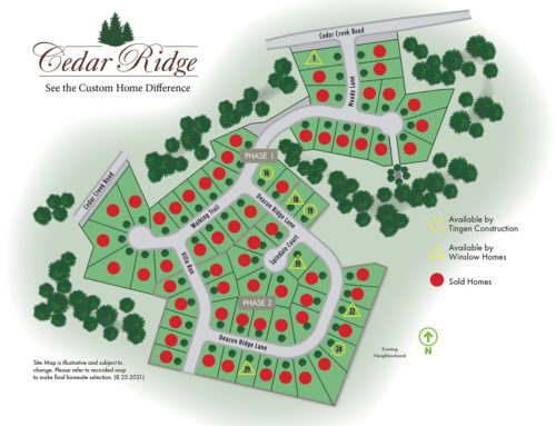 Only 8 Homesites Available